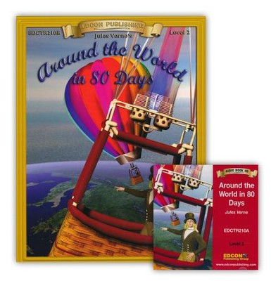 Around the World in 80 Days Read Along Set  -