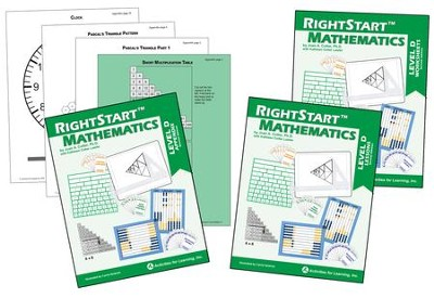 RightStart Math Level D Book Bundle, Second Edition   -