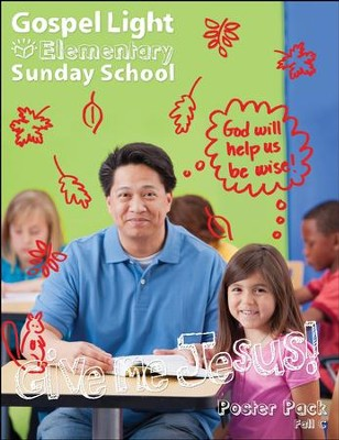 Elementary Bible Teaching Poster Pack Grades 1-4, Fall 2017 Year C  -