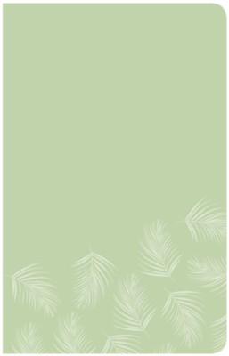 CSB Essential Teen Study Bible, Personal Size, Green Palms LeatherTouch  -