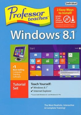 Professor Teaches Windows 8.1 CD-ROM   -