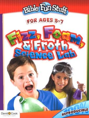 Fizz, Foam & Froth Science Lab--Ages 5 to 7   -