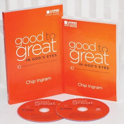 Good to Great in God's Eyes Personal Study Guide Kit (1 DVD &  1 Study Guide)  -     By: Chip Ingram