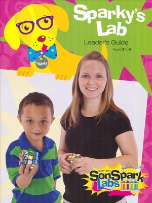 VBS 2015 SonSpark Labs - Sparky's Lab Leader's Guide (PreK & Kindergarten/Ages 3-6)  -