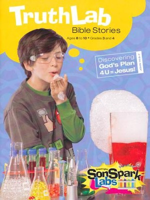 VBS 2015 SonSpark Labs - TruthLab Bible Stories (Grades 3-4/Ages 8-10)  -