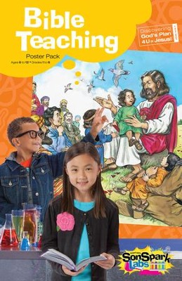 VBS 2015 SonSpark Labs - Bible Teaching Poster, Pack (Grades 1-6/Ages 6-12)  -