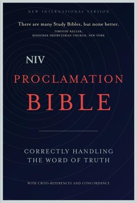 NIV Proclamation Bible: Correctly Handling the Word of Truth - eBook  -