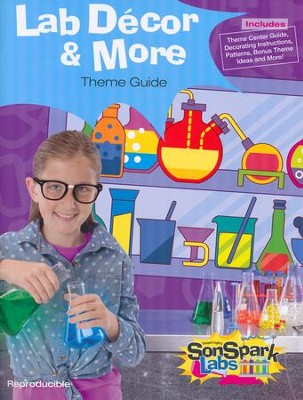 VBS 2015 SonSpark Labs - Lab Decor & More  -
