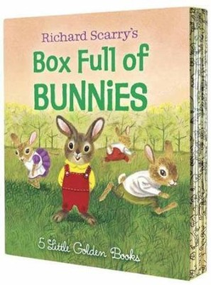 Richard Scarry's Box Full of Bunnies  -     By: Richard Scarry