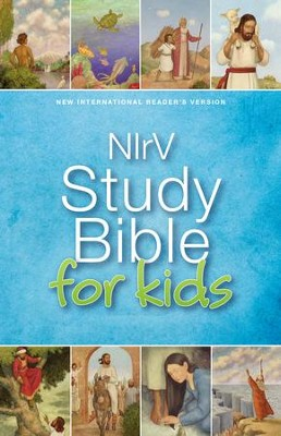 NIrV Study Bible for Kids - eBook  -