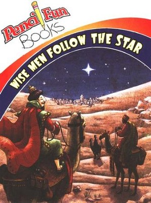 Wise Men Follow the Star: Pencil Fun Books, Pack of 10   -     By: Ed Letwenko(Illustrator)     Illustrated By: Ed Letwenko