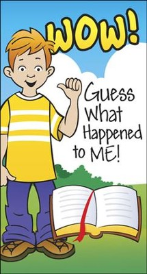 Wow! Guess What Happened to Me! KJV, pack of 50   -