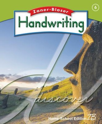 Zaner-Bloser Handwriting Grade 6: Student Edition  -