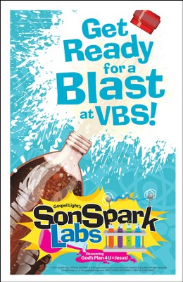 VBS 2015 SonSpark Labs - Bulletin Insert, Pack of 100  -