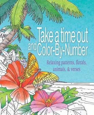 Take a Time Out, Color by Number, Coloring Art  -