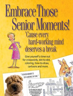 Embrace Those Senior Moments Activity Book  -