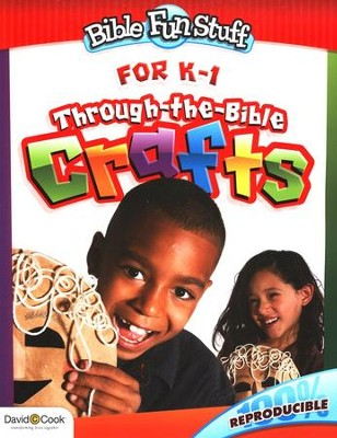 Through the Bible Crafts for Kindergarten and 1st Grade  -