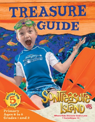 VBS 2014 SonTreasure Island - Treasure Guide: Primary (Grades 1-2/Ages 6-8)   -