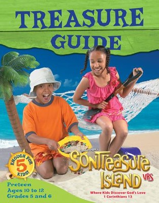 VBS 2014 SonTreasure Island - Treasure Guide: Preteen (Grades 5-6/Ages 10-12)   -