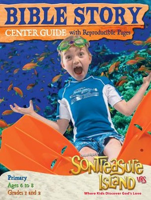 VBS 2014 SonTreasure Island - Bible Story Center Guide- Primary    -
