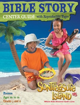 VBS 2014 SonTreasure Island - Bible Story Center Guide: Preteen    -