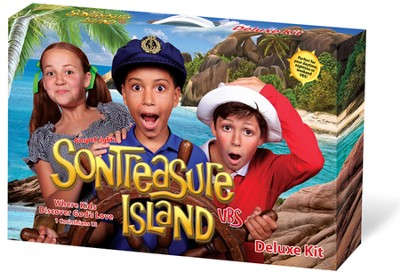 VBS 2014 SonTreasure Island - Deluxe Kit    -