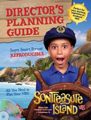VBS 2014 SonTreasure Island- Director's Planning Guide: Reproducible!  -
