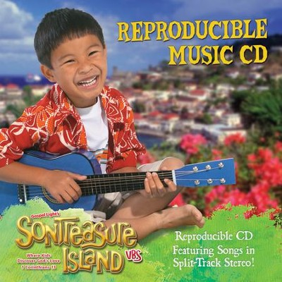 VBS 2014 SonTreasure Island- Reproducible Music CD  -