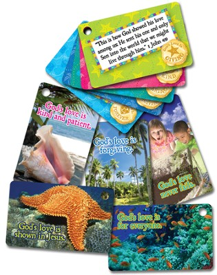 VBS 2014 SonTreasure Island- Connection Cards: 25 Pack  -