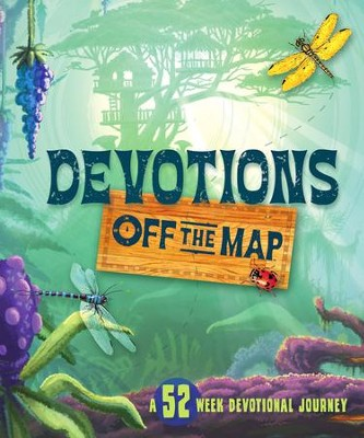 Devotions Off the Map: A 52-Week Devotional Journey - eBook  -