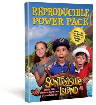 VBS 2014 SonTreasure Island - Reproducible Power Pack CD-ROM/DVD-ROM   -