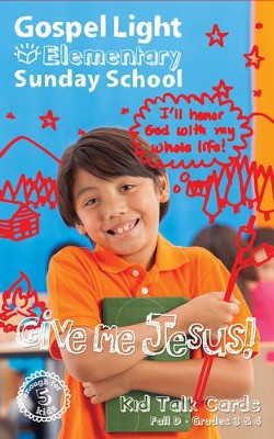 Gospel Light: Elementary Grades 3 & 4 Kid Talk Cards, Fall 2018 Year D  -     By: Gospel Light