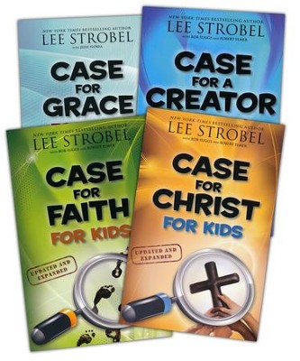 The Case for Kids Series: Christ, Faith, Creator & Grace - 4 Books   -