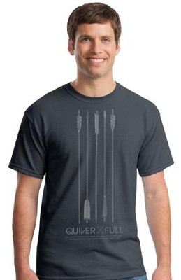 Quiver Full Shirt, Gray, XX-Large  -
