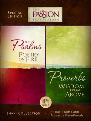 Psalms Poetry on Fire and Proverbs Wisdom From Above: 2-in-1 Collection with 31 Day Psalms & Proverbs Devotionals - eBook  -     By: Brian Simmons