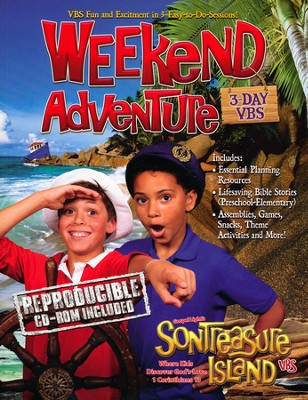 VBS 2014 SonTreasure Island - Weekend Kit   -