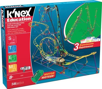 Stem Explorations: Roller Coaster Building Set  -