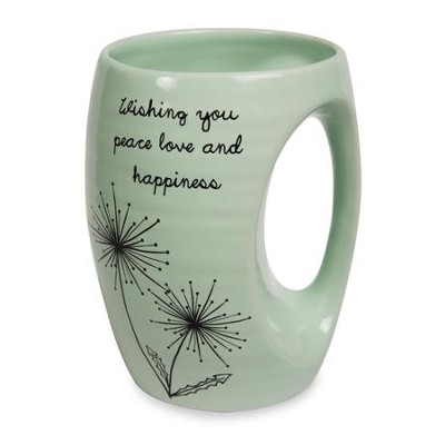 Wishing You Peace Love and Happiness Mug  -