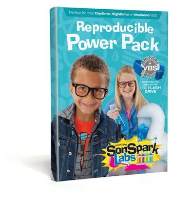 VBS 2015 SonSpark Labs: Discovering God's Plan 4U=Jesus - Reproducible Power Pack  -