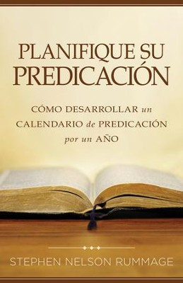 Planifique su predicacion - eBook  -     By: Stephen Rummage