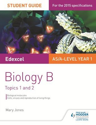 Edexcel Biology B Student Guide 1: Topics 1 and 2 / Digital original - eBook  -     By: Mary Jones