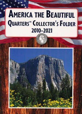 America the Beautiful QuartersCollector's Folder  2010-2021  -