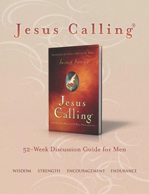 Jesus Calling Book Club Discussion Guide for Men - eBook  -     By: Sarah Young