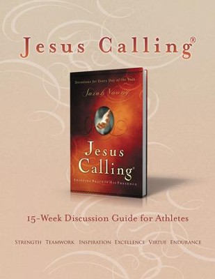 Jesus Calling Book Club Discussion Guide for Athletes - eBook  -     By: Sarah Young