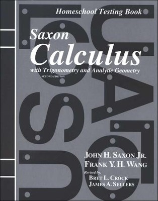 Saxon Calculus Answer Key and Tests, 2nd Edition   -