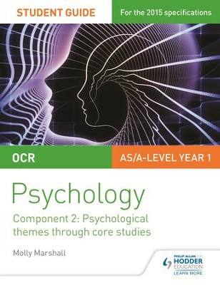 OCR Psychology Student Guide 2: Component 2: Psychological themes through core studies / Digital original - eBook  -     By: Molly Marshall