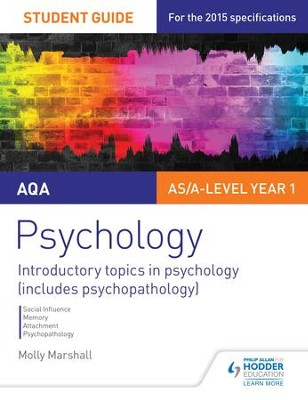 AQA Psychology Student Guide 1: Introductory topics in psychology (includes psychopathology) / Digital original - eBook  -     By: Molly Marshall