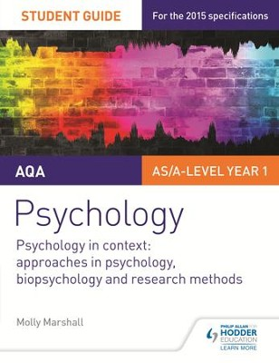AQA Psychology Student Guide 2: Psychology in context: Approaches in psychology, biopsychology and research methods / Digital original - eBook  -     By: Molly Marshall