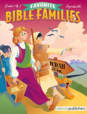 Favorite Bible Families, Grades 1 & 2                    -     By: Bonnie Line