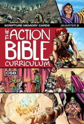 CSB Action Bible Scripture Memory Cards Q2  -